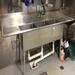 Bar/Restaurant Auction - 8' - 3 compartment s/s sink with drain boards